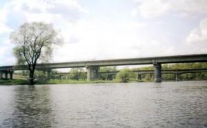 Река Ворона, Тамбовская область, мост