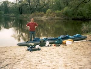 Река Ворона, Тамбовская область, стоянка