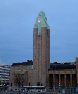 Хельсинки, железнодорожный вокзал