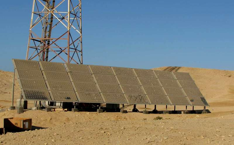 Райский остров, Хургада, солнечная батарея