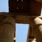 Египет, Луксор, Карнакский храм, колонны