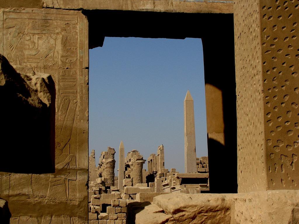 Луксор, Карнакский храм, вид, за который я заплатил фунт