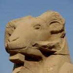Египет, Луксор, Карнакский храм, сфинкс