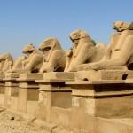 Египет, Луксор, Карнакский храм, аллея сфинксов