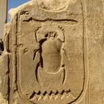 Египет, Луксор, Карнакский храм, скарабей