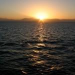 Египет, Хургада, морская прогулка. Какое море без заката?