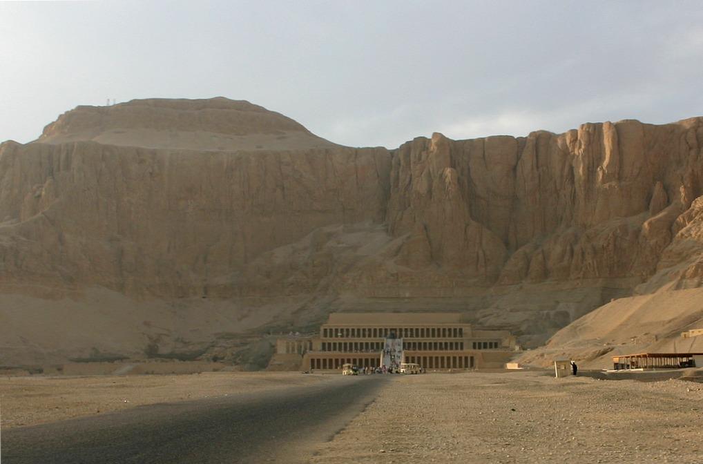 Храм Хатшепсут, Египет, общий вид