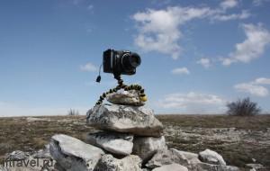 Чатыр-даг. Фотоаппарат Canon в самостоятельном плавании.