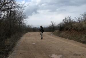 Дорога с Чатыр-Дага