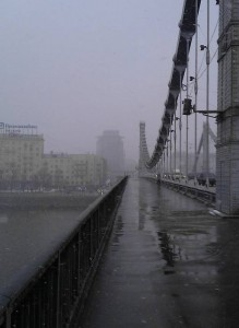 Москва мрачна и неприветлива