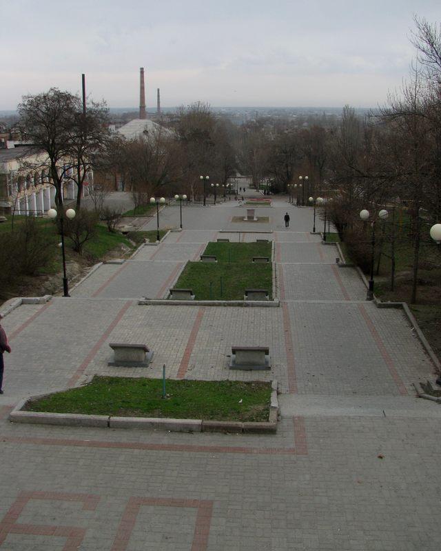 Мемориальный спуск, Мелитополь