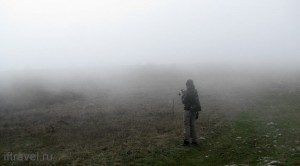 Чатыр-даг. Туман.