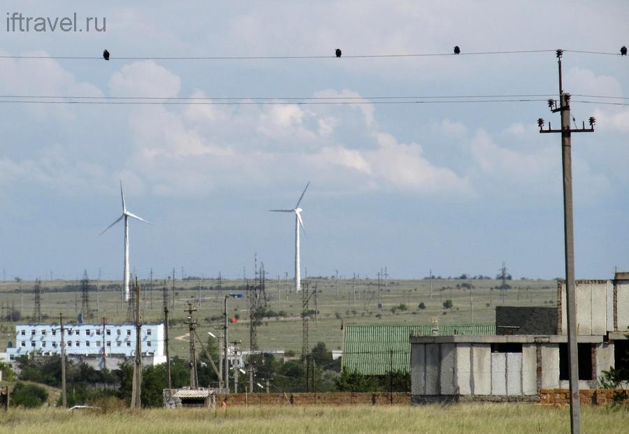 День 5: Межводное-Джангуль, ветряки и птички