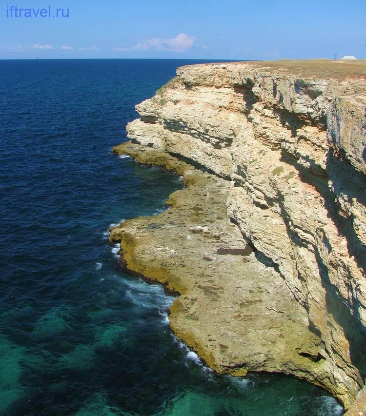 Черноморское: обрыв
