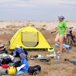 Лагерь у Бакальского озера