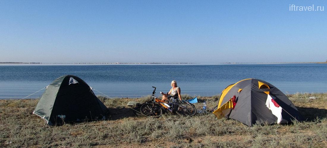 Утро у озера Донузлав