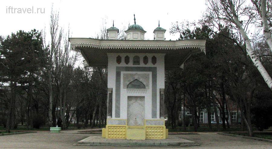 Фонтан Айвазовского, Феодосия