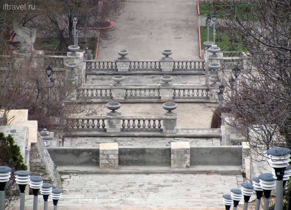 Митридатская лестница, Керчь.