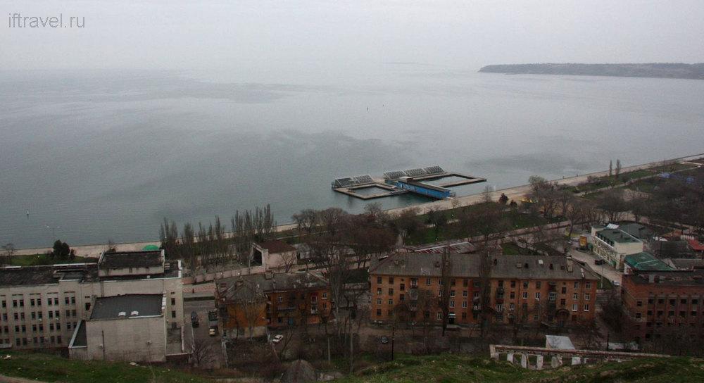 Вид с горы Митридат, Керчь