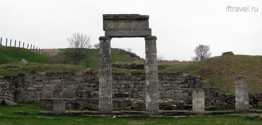 Пантикапеи - античные руины