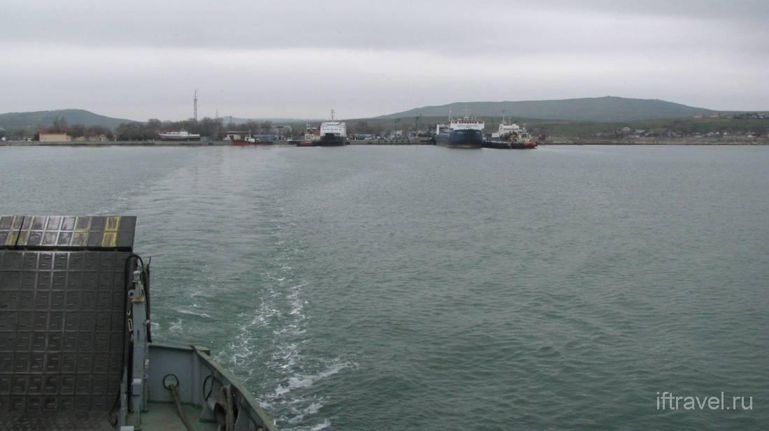 Паром Порт Крым - Порт Кавказ