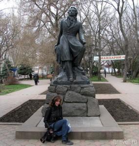 Феодосия, памятник Пушкину
