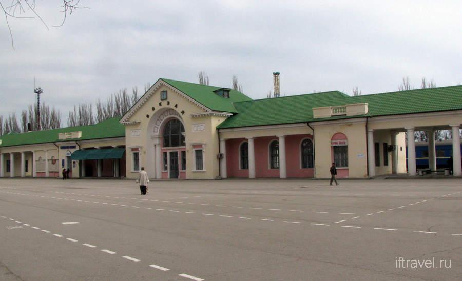 Феодосия, вокзал