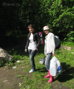 Аня и Маша уходят