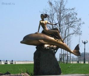 Девочка на дельфине, Новороссийск