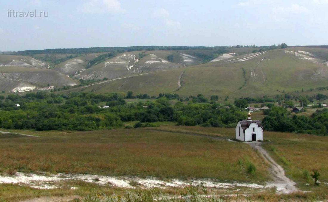 Костомарово, часовня на Голгофе