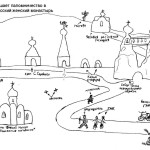 Свято-Спасский монастырь, схема
