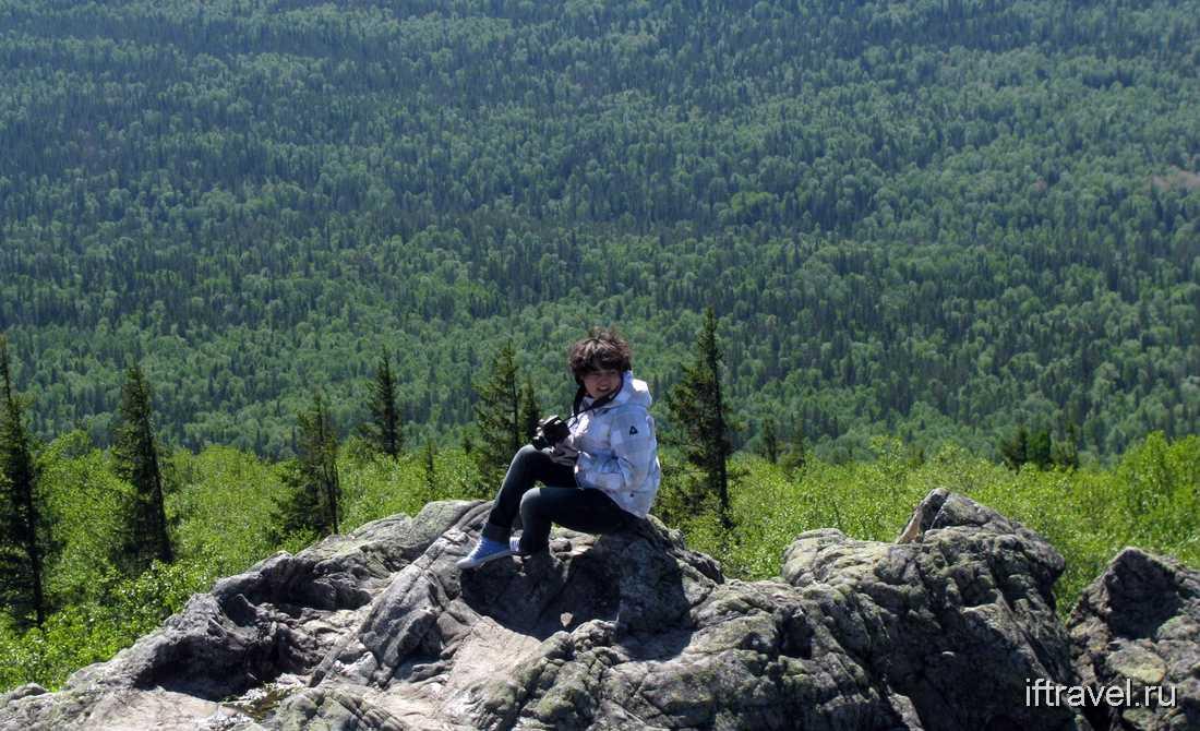 Машаша на вершине Двуглавой