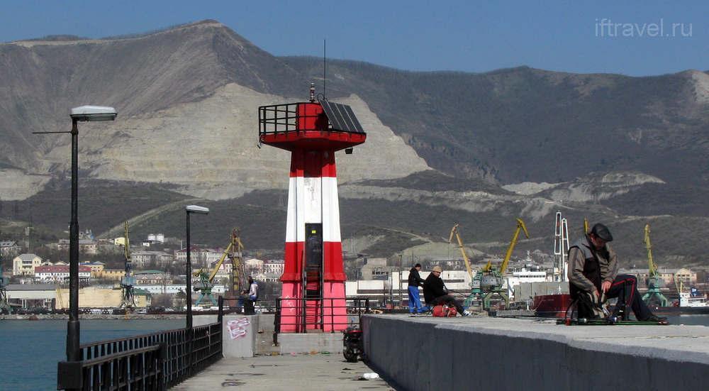 Навигационный знак, Новороссийская бухта