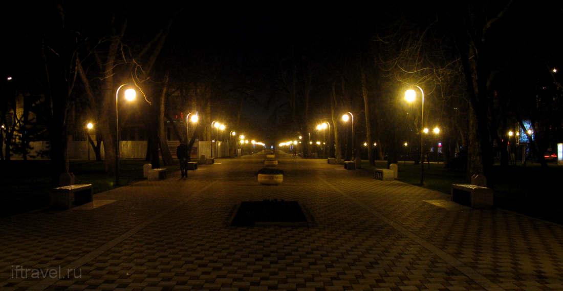 Ночной Новороссйск
