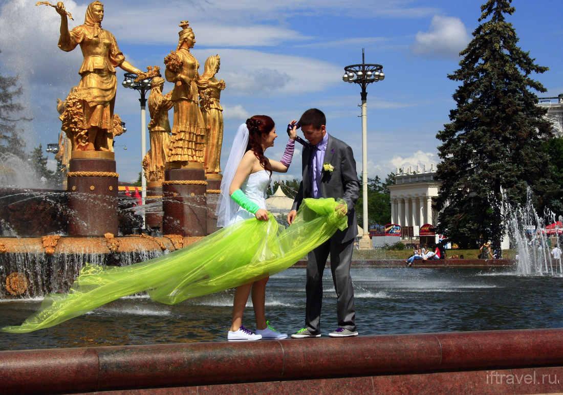 ВДНХ: забавная свадьба