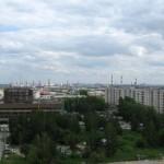 Вид с Белой башни, Екатеринбург