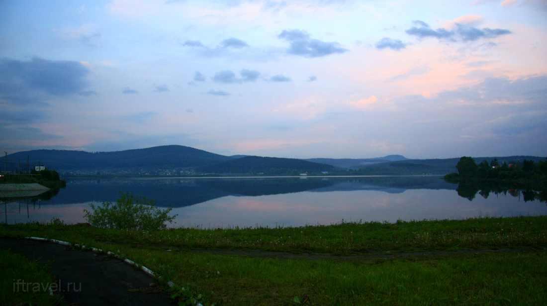 Златоуст, озеро