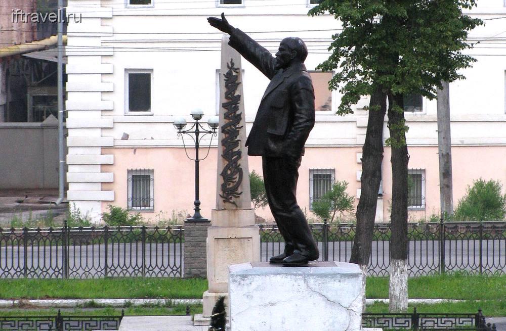 В.И. Ленин в городском саду, г. Златоуст