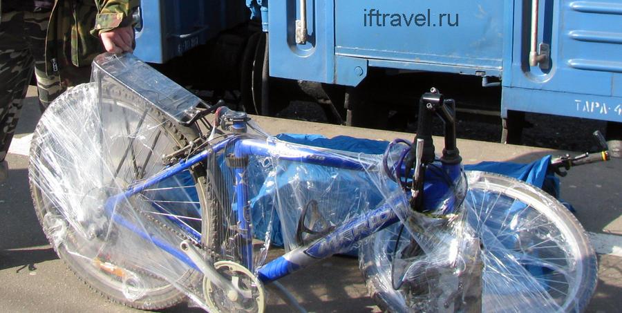 Халтурно упакованный велосипед