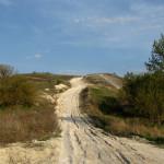Дивногорье, меловая дорога