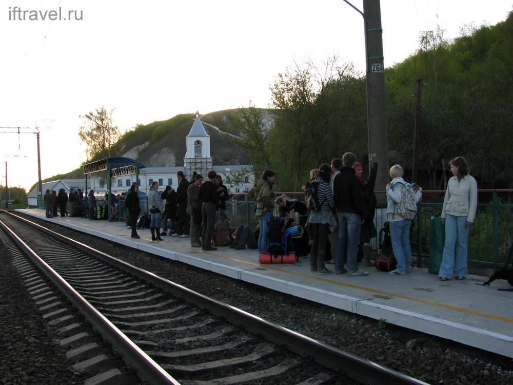 Народ покидает Дивногорье