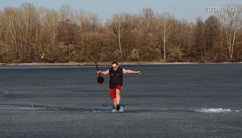 Бег по льду