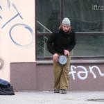 Замерзший барабанщик