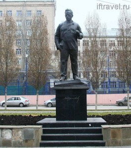 Памятник Шолохову, Ростов-на-Дону