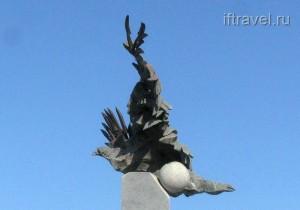 Двуглавый орел-птеродактиль