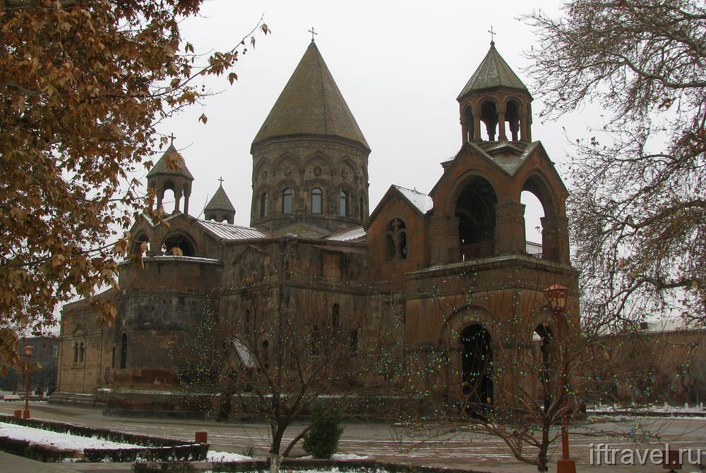 Эчмиадзин, кафедральный собор