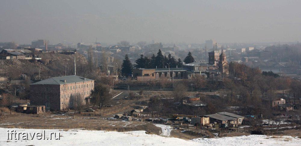 Черная крепость, вид на Гюмри