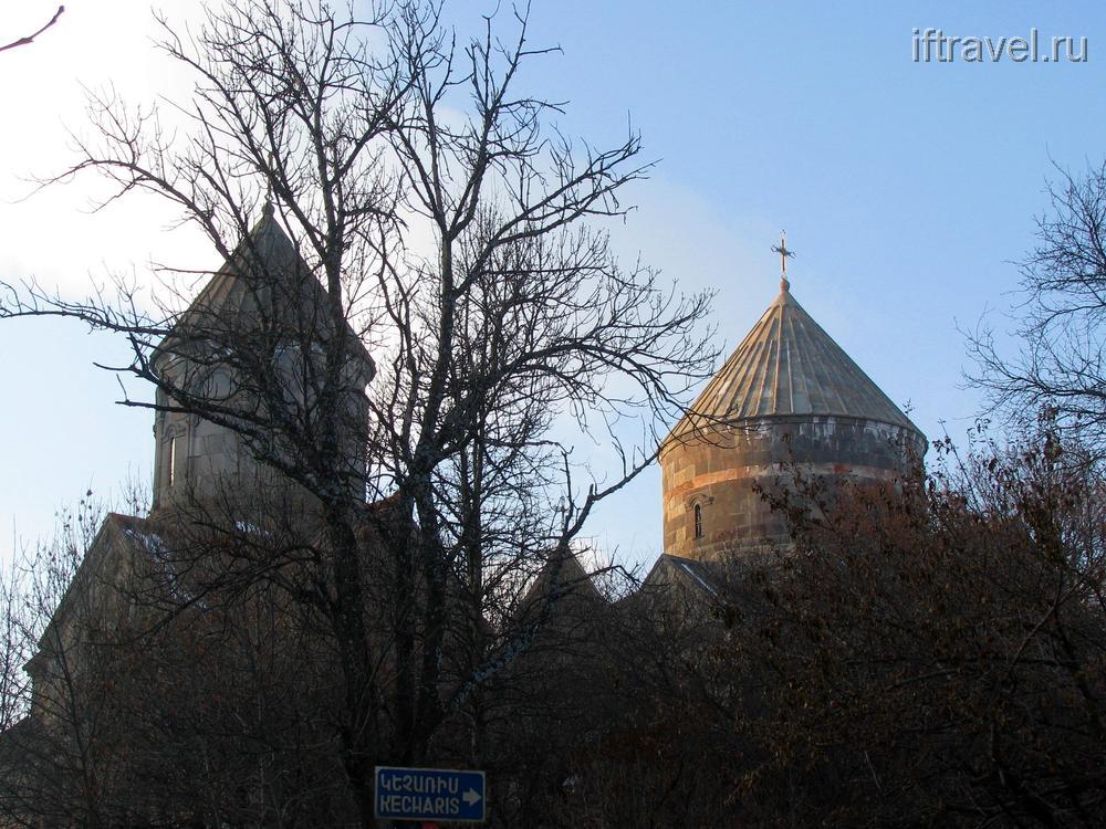 Монастырь Кечарис, Цахкадзор, Армения