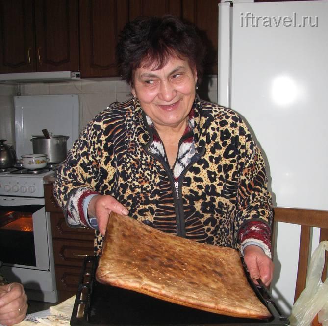Хлеб-пирог готов