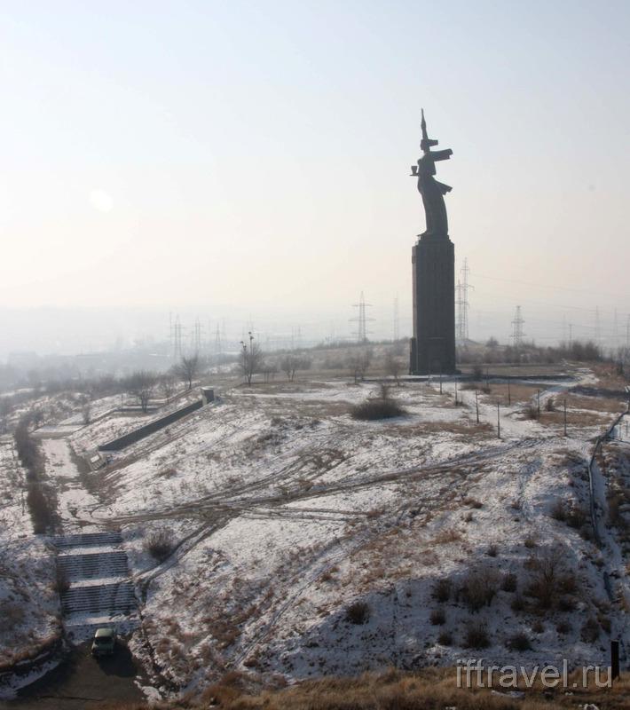 """Монумент """"Мать-Армения"""", Гюмри"""